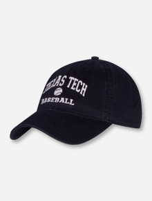 Legacy Texas Tech Baseball Black Adjustable Cap