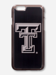 Guard Dog Texas Tech Double T on Black Aluminum Cell Phone Case