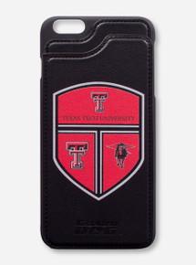 "Guard Dog Texas Tech Crest ""Alpha"" Wallet Black Cell Phone Case"