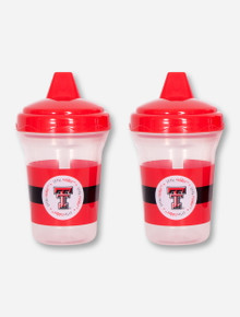 Texas Tech Little Red Raider Sippy Cup Double Pack
