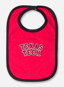 Texas Tech Block Red and Black Bib