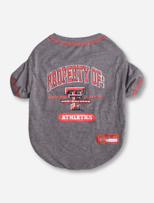 Property of Texas Tech Pet T-Shirt