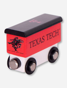 Texas Tech Train Cart Toy