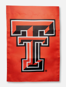 "Texas Tech Red Raiders Double T on Red 13"" x 18"" Garden Flag"