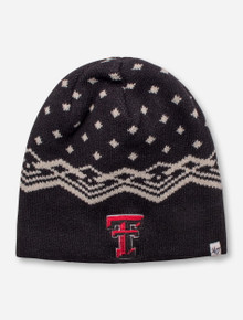 "47 Brand Texas Tech ""Norwich"" Black Beanie"