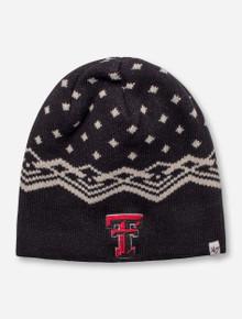 "47 Brand Texas Tech ""Norwich"" Black Beanie"