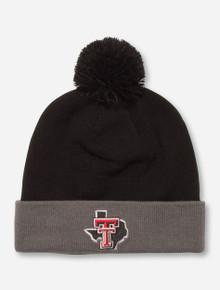 "Under Armour Texas Tech ""Avalanche"" Black and Grey Beanie"