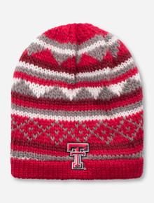 LogoFit Texas Tech Double T Knit Woven Beanie