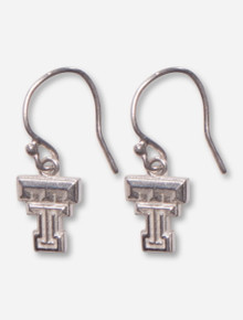 DaynaU Texas Tech Double T Sterling Silver Earrings