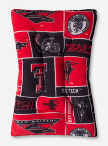 Texas Tech Fleece Dog Bed
