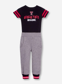 "Arena Texas Tech Red Raiders ""Shadow"" INFANT Onesie and Pants Set"