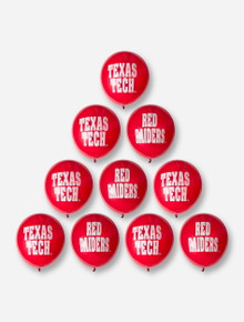 Texas Tech Red Raiders Red Balloons