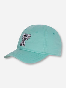 The Game Texas Tech Black and White Double T TODDLER Mint Adjustable Cap