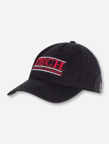 The Game Texas Tech Tech Bar TODDLER Black Adjustable Cap