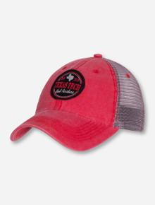 "Legacy Texas Tech ""Dashboard"" Trucker Red Mesh Cap"