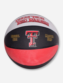 Texas Tech Red Raiders Black and White Basketball