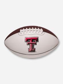 Nike Texas Tech Regulation Duo-Tone Brown & White Football