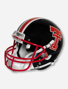 Schutt Texas Tech '75 - '83 Throwback Black & Red Replica Helmet