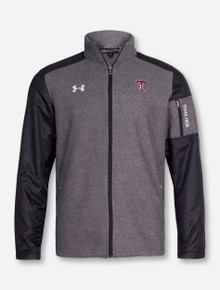 Under Armour Texas Tech Surivor Grey Full Zip Jacket