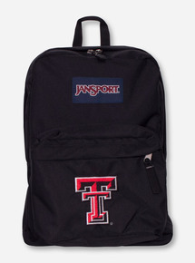 Jansport Texas Tech Black Label Superbreak Back Pack