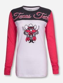 "Pressbox Texas Tech ""Jimbo"" Long Sleeve Shirt"