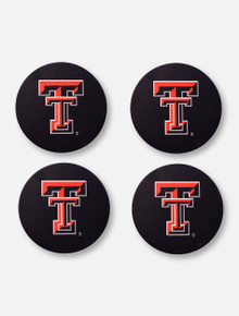 Texas Tech Red Raiders Texas Tech Double T 4 Pack Coaster Set