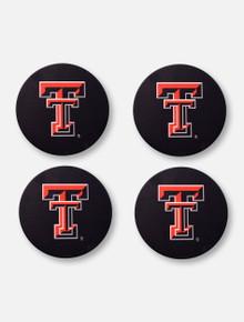 Texas Tech Red Raiders Texas Tech Double T 4 Pack Coaster Set