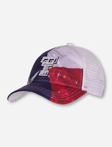The Game Texas Tech State Flag Trucker Snapback Cap