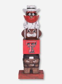 Texas Tech Raider Red Tiki Totem