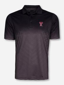 "Antigua Texas Tech ""Finesse"" Black Polo"