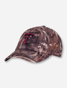 "Top of the World Texas Tech ""Crew Max"" Camo Adjustable Cap"