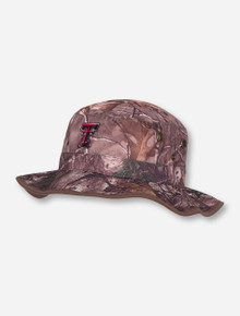 "Top of the World Texas Tech ""Conceal"" Camo Bucket Hat"
