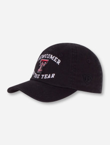 "Top of the World Texas Tech ""Newcomer"" INFANT Black Cap"