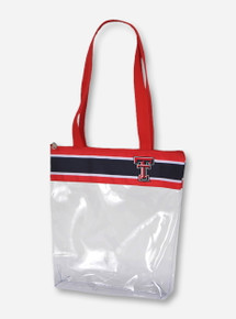 Texas Tech Double T Zippered Stadium Tote