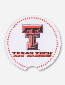 Texas Tech Star Border Car Coaster