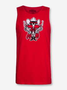 Texas Tech Raider Red Guns Up Tank Top