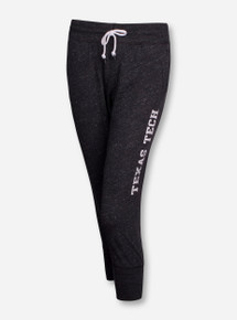 Nike Texas Tech Gym Vintage Heather Charcoal Capris