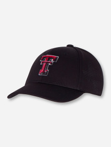 """Top of the World Texas Tech """"Rails"""" YOUTH Black Cap"""