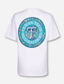 Texas Tech Southern Weekend Paisley White T-Shirt