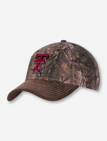 The Game Texas Tech Double T on Camo Adjustable Cap