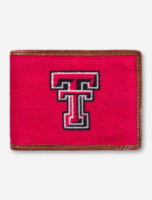 Texas Tech Double T Needle Point Wallet