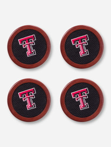 Texas Tech Needle Point Coasters