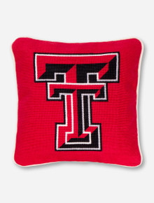 Texas Tech Needle Point Pillow