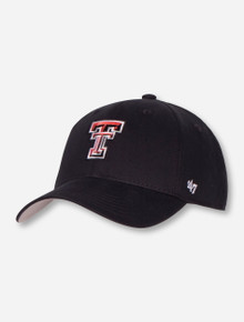 47 Brand Texas Tech Double T Back to Basic YOUTH Cap