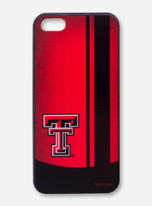Texas Tech Double T Striped iPhone Case