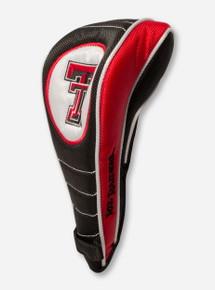 Team Effort Texas Tech Double T on Shaft Gripper Fairway Head Cover