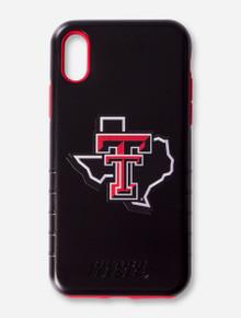 Texas Tech Red Raiders Lone Star Pride on Black Phone Case