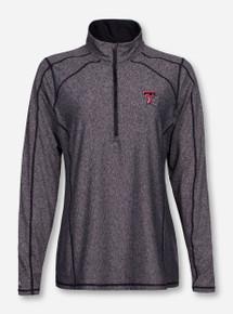 """Antigua Texas Tech """"Tempo"""" Half Zip Pullover"""