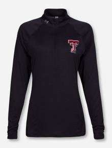 "Under Armour Texas Tech ""Zen"" Black Half Zip Pullover"