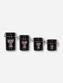 Texas Tech Ceramic Canister Set
